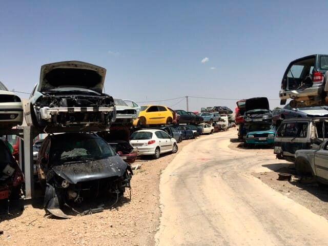 Piezas de desguace para coches en Albacete