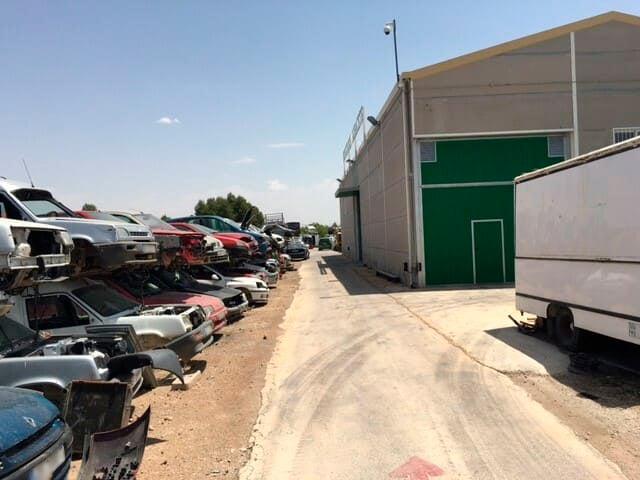Venta de piezas de recambio para coches en Albacete