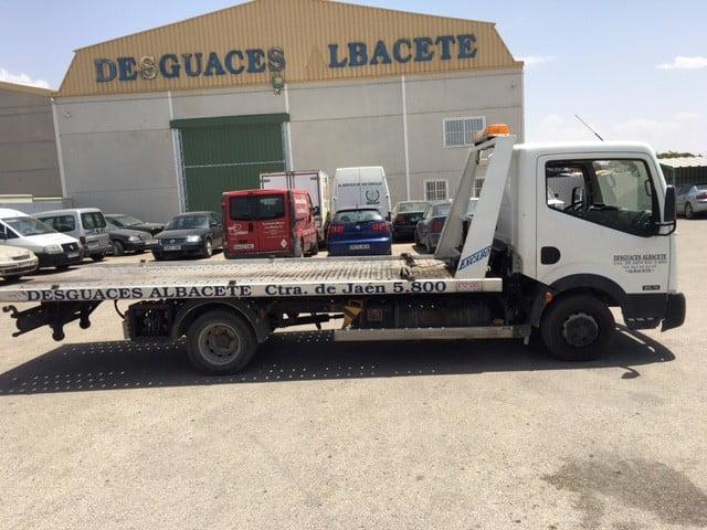 Desguace para furgonetas en Albacete