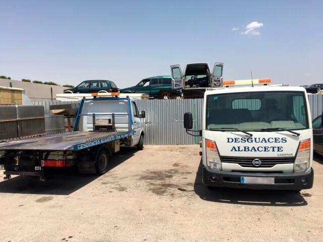 Piezas y recambios para coches en Albacete