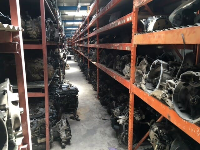 Motores de desguace en Albacete