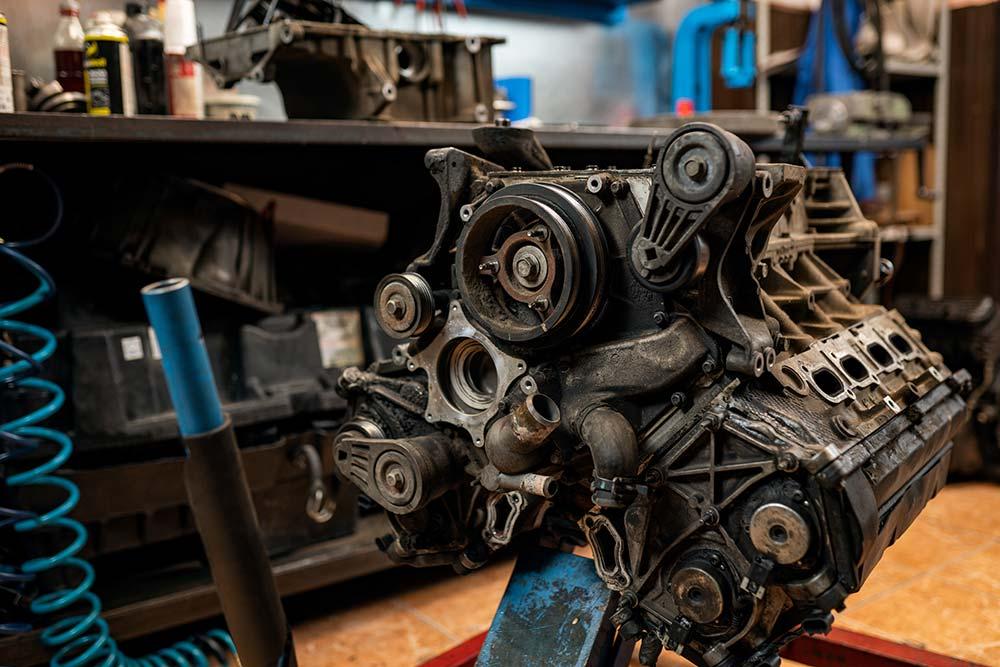 motor de coche de segunda mano | Desguaces Albacete