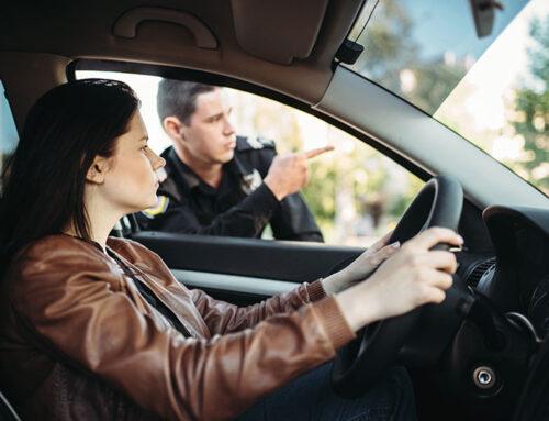 Las 10 infracciones de tráfico más comunes