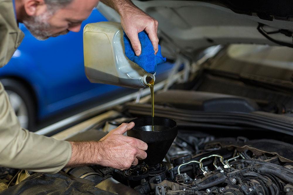 tipos de aceite para coches